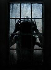 Incorniciato stampa-Wicked BAMBINO MONSTER spionaggio attraverso finestra (foto poster arte)