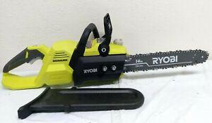 "Ryobi RY40503 40V ELECTRIC 14"" Inch  BRUSHLESS CHAIN SAW CHAINSAW, N"