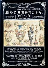 LORETI L. L., LORETI I., Ceramiche artistiche Molaroni. Mariotti 1998