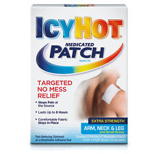 New Icy Hot Extra Strength Arm, Neck & Leg Medicated Patch, 5 count
