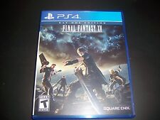 Replacement Case (NO GAME) FINAL FANTASY XV PlayStation 4 PS4 100% Original Box