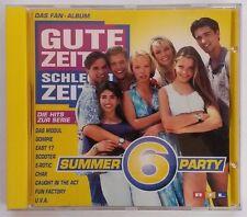 CD  Gute Zeiten Schlechte Zeiten - Summer Party 6   Das Fan Album >77<