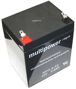 Akku 12V 5,4Ah für Ion Audio Block Rocker Tailgater IPA77 ipa77 Telong TL1245
