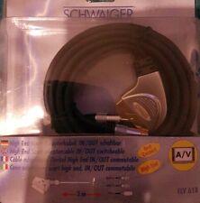 High End Scart- Adapterkabel In/Out schaltbar 3 m