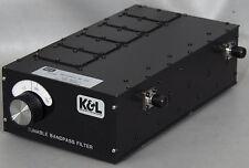 Kamplmpg 5bt 110220 2b Tunable Bandpassband Pass Microwave Filter 110 220 Mhz
