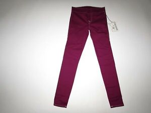 True Religion Women's Starlet Legging Jeans Size Small NWT Berry Wash Pull On