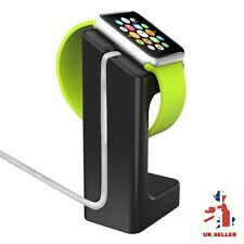 BLACK Apple Watch Series 1 2 supporto Dock di ricarica 38 / 42mm Docking Station
