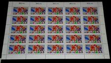 GERMANY, 1989, SPORTS HOCKEY , 140+60, SHEET/25, MNH, NICE! LQQK!
