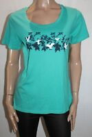 Wild Country Brand Mint Green with Bird Design Casual Tee Size 14 BNWT #SY68