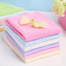 6x Bath Washcloth Washer Baby Cotton Face Wipes Washable Bath Shower Towel