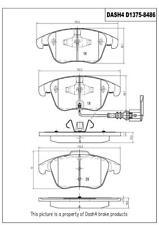 Disc Brake Pad Set-Metallic Pads Front Pronto PMD1375