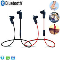 Wireless Bluetooth Headset Stereo Headphone Earphone with Mic Hand-free Calling