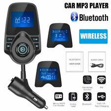 Nulaxy KM24 Bluetooth FM Transmitter - Black