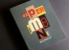 EXPERIMENT BAUHAUS Moholy-Nagy Kandinsky Klee Metalwork Photography Furniture