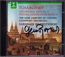 Gennadi ROZHDESTVENSKY Signed TCHAIKOVSKY Suite No.3 Festival Coronation March