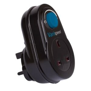 Plug in Fan Speed Controller, Dimmer Control, Reducer Hydroponics VARIISPEED
