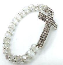 12PC Baptism Favors Bracelets Crystal  Recuerdos de Bautizo y primera communion