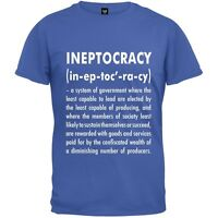 Ineptocracy Definition Royal Mens Blue Adult Mens T-Shirt