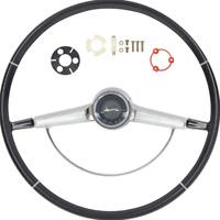 OER R65001 1965 Chevrolet Impala Black Steering Wheel Kit