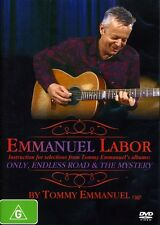 Tommy Emmanuel-Emmanuel Labor (Pal/Region 0) (2008, DVD NIEUW)