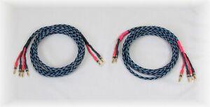 Sinuslive Lautsprecherkabel - Bi-wiring - 2 x 3 Meter - kein Kimber