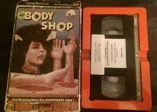 body shop big box vhs aka dr gore paragon video rare