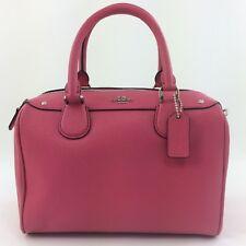 New Coach F57521 Mini Bennett Satchel Handbag Purse Shoulder/Crossbody Bag Pink