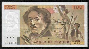 100F Delacroix 1991