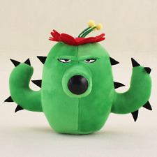 Plants vs Zombies Cactus Plush Toy - NEW - FREE FAST USA SHIPPING