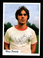Hans Fritsche Autogrammkarte Rot-Weiss Oberhausen Spieler 70er Jahre Orig Sign