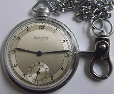 """RARE  """"ANCRE EXTRA""""-MINT-SWISS POCKET WATCH"""