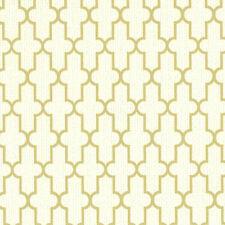 York Gold Frame Geometric Textured Wallpaper CL1831