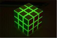 YJ luminous cube 3x3 Spring Speed 3x3x3 Glow in dark Magic Cube Puzzle Twist Toy
