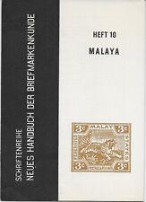L4252 Germany Deutschland 1962 Heft 10 Die Briefmarken von Malaya