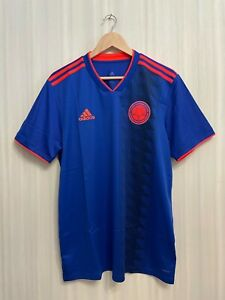 5+/5 Colombia 2018/2019 away Size L Adidas shirt jersey football soccer maillot