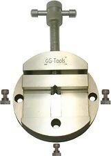 28036 GG-Tools Maschinenschraubstock 100mm Rundschraubstock Teilapparat