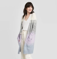 Colorblock Long Sleeve Knitted Cozy Cardigan -A New Day -Various Sizes -S548