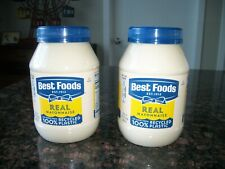 Hellman's ( Best Food) Real Mayonnaise 30 oz 2 pack Made With Cage Free Eggs