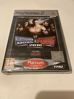 😍 playstation 2 ps2 neuf blister fr smackdown vs raw 2010 featuring ecw catch