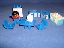 Lego Duplo  Spielhaus - Einrichtung - Küche mit 1 Männchen **