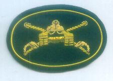 Army Armor Armored Cavalry War Hat Tank M1 Unit War Battle Cap Officer Badge ID