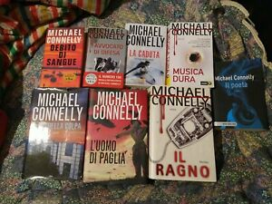 MICHAEL CONNELLY LOTTO 8 libri