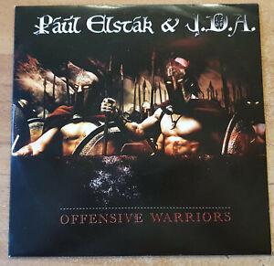 """Paul Elstak & J.D.A. – Offensive Warriors 10"""" Hardcore Vinyl Offensive 030"""