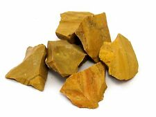 Yellow Jasper Rough 1/2 lb  Lot Zentron Crystals