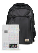 Heavy Duty All Black Tattoo Travel Backpack-Everest