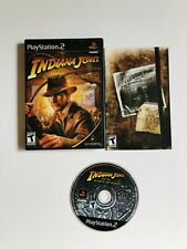 Indiana Jones and the Staff of Kings PS2 Complete CIB PLAYSTATION 2 FREE SHIP'N