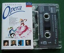 Essential Opera Pavarotti Te Kanawa Montserrat Caballe + Cassette Tape - TESTED