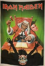 "Iron Maiden Eddie Ten Years Cloth Fabric Textile Poster Flag Banner 30""x 40"" New"
