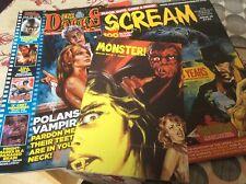 Scream magazine issue 49. Monster issue 3. The Darkside issue 174