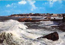 BR8865 Le Phare et la mer par gros temps Biarritz   france